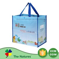 Affordable Price Eco-Friendly Pp Woven Reusable Shopping Eco Bag With Cart Clips