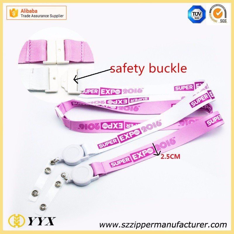 Wholesale High quality yoyo id card holder lanyard & retractable lanyard
