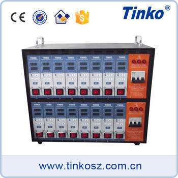 China manufacturer TINKO 12 zone injection thermometer intelligent temperature controller for hot runner control system