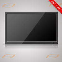 84 inch lcd cctv waterproof touch screen monitor with HDMI/DVI/VGA input