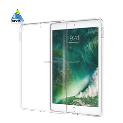 Silicon Case For iPad Clear Transparent Case For iPad 2 3 4 Soft TPU Back Cover Tablet Case 9.7 inch