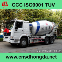 Self-loading Concrete Transit Mixer HDT5313GJB with CCC/ISO9001 Certificates on Sale