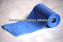 Plastic bags on roll for household, supermarket, very convinience
