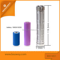Bauway MO1 mechanical MOD safety newest unique design with protection fuse build in,510/ego thread