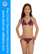 Domi Hot Sexy Ruffled Kids Girls Micro Bikini