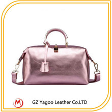 Pearl grain bags bling bling pure women leather bag