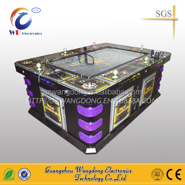latest arcade game machine kits Raged Swordshark game support software for fishing game machines for sale