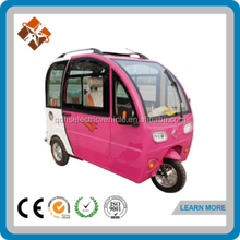 hot sale enclosed electric tricycle in india