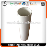 Hot Sale UPVC High Quality Plastic Rain Water Gutter Pipes and Fittings For Water Drainage System