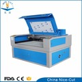 NC-1610 CO2 laser cutter machine with double heads