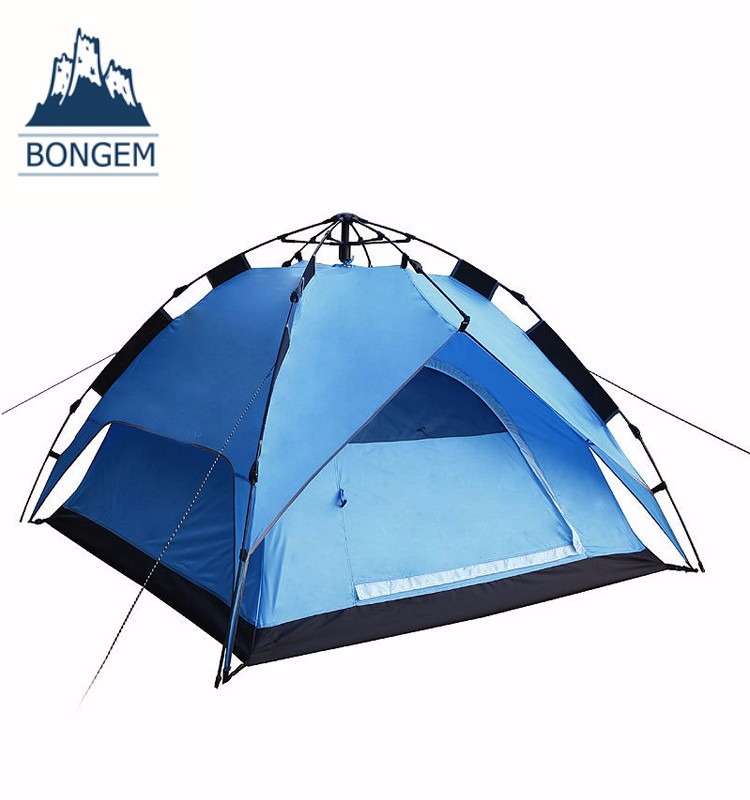 Easy building automatic double layer waterproof camping tent