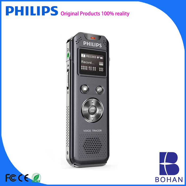 PHILIPS Digital High Sensitive Hidden Voice Recorder Detector for Recording Meeting