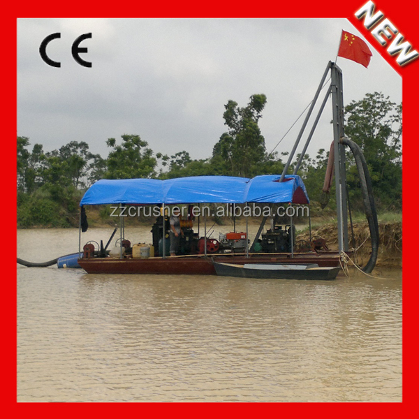 Top quality new type small river sand dredging machine for sand dredge
