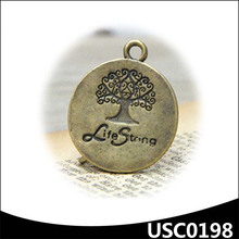 TREE OF LIFE leather or chain strand floating locket charm manufacturer
