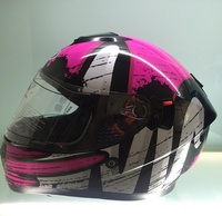 Factory wholesale DOT approved helmet with double visor full face motorycle helmet