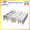Environmentally-friendly EPS foam ICF block material construction