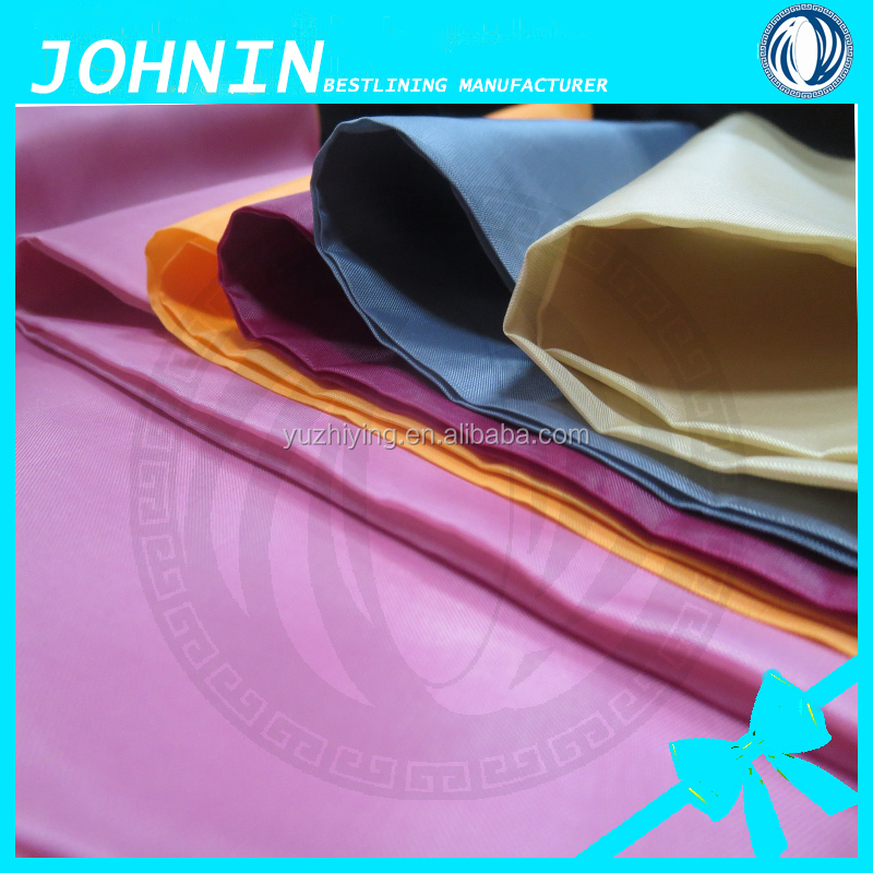 Polyester 170t 190t taffeta lining fabric india dubai market cheap price good quality factory taffeta fabric
