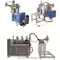 Fixed and adjustable ratio adhesive dispensing equipment system