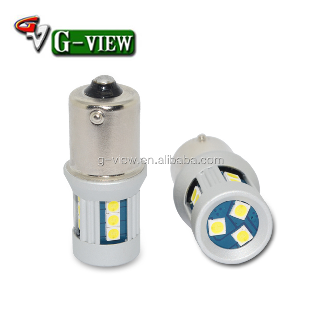 s25 15smd 3030 turn light,p21w 1156 1157 15smd 3030 auto car led bulb, hot sale s25 5050 tail light