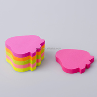 100 Sheets Colored Paper Sticker /Post Sticky Notes /self adhensive sticker