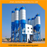 hot selling china 120m3/h portable dry mix concrete batching plant machine for sale