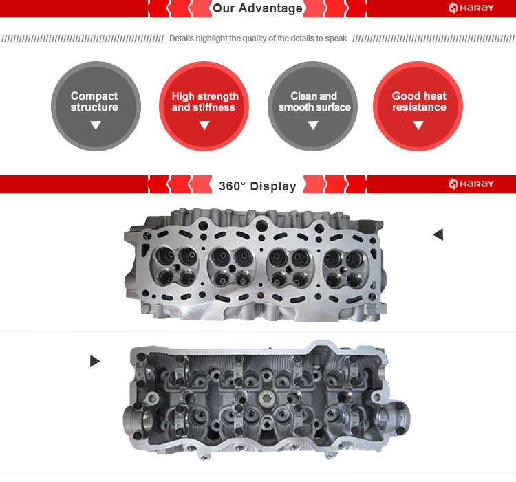 5S 5S-FE Cylinder Head for Toyota Camry 2.2L Engine