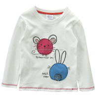 TF-02160620020 2016 new autumn baby boys t shirts baby boy clothes cotton cartoon casual children kids long sleeve t shirts