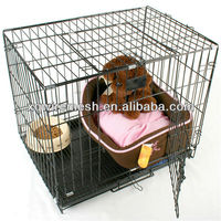 High Quality XQ welded PVC coated dog cage/good price metal dog cage