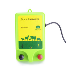Plastic sheep 12v powered solar waterproof electric fence energizer for livestock farming
