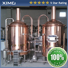 smart electronic beer boiler/ beer brewing kettle with Copper/ brewhouse with CE for homebeer