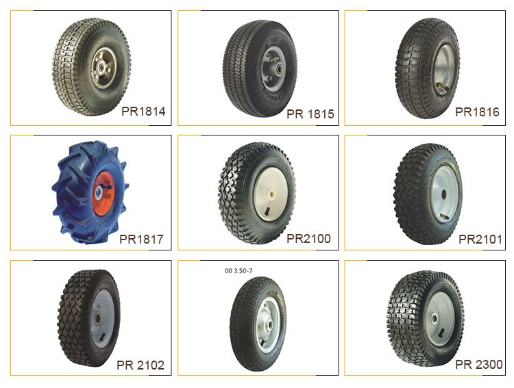 "Professional Manufacturer Sale Various Type Small Pneuamtic Wheel 8"" 2.50-4"