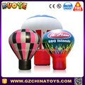 HOT AIR ROOFTOP BALLOON ADVERTISING INFLATABLES