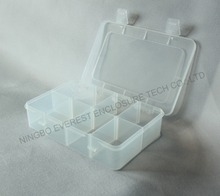 Clear Plastic Storage Box Case Bead Earrings Jewelry Display Organizer