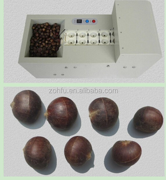 Commercial Chestnut Thorn Shell Peeler/peeling machine/chestnut thorn shell removing machine