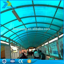 rain protection transparent plastic roofing sheet for shed