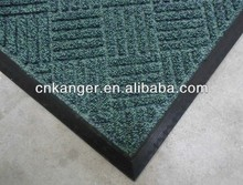 fashion polypropylene surface home rubber floor mat
