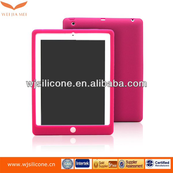 Hot seller laptop shell for ipad flexible silicone cover case