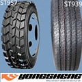 china tyre Yongsheng DOUPRO factory truck tyres 12R22.5 ST957