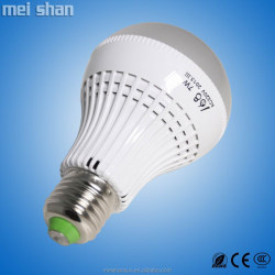 5W LED energy saving bulb plastic body LED lighting E27/E14/B22 base holder