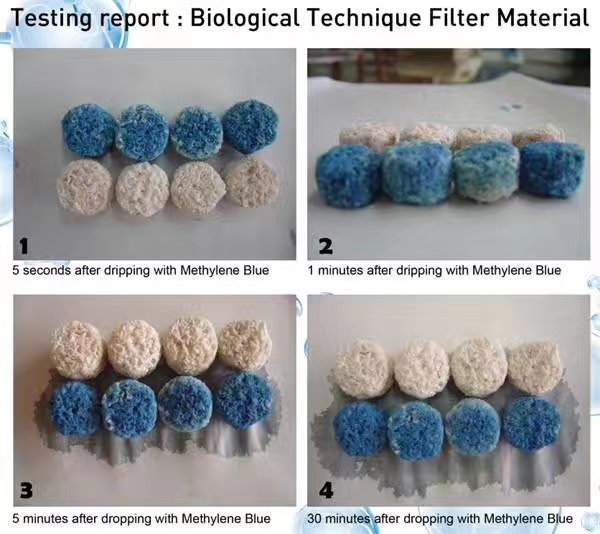 AC Open porosity 3D filter media for aquarium biological filtration