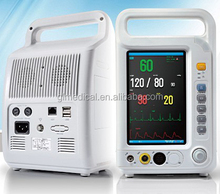 New Model 7' inch portable multi-parameter handheld ambulance patient monitor wireless patient monitor