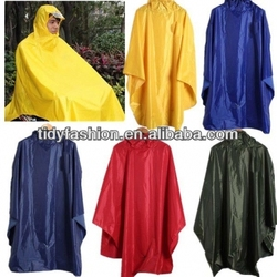 Polyester Waterproof Rain Poncho For Bike, Bike Raincoat