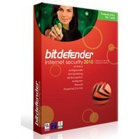 SAVE 30% Bitdefender Internet Security 2010 - 1 PC 1 Year