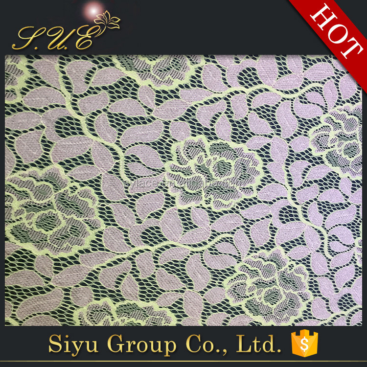 Wholesale High Quality cord lace fabric