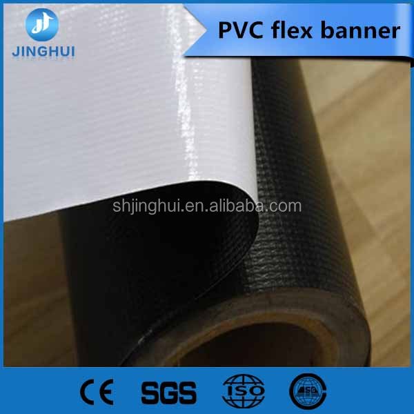 Suppying 440g /13oz 500X500D 9X9 Frontlit PVC Flex banner
