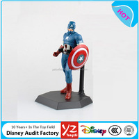 High Quality Action the avenger super heros series pvc action figure New design pvc 3D action figure