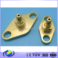 Precise Brass material CNC machining medical equipment parts , surface passivation treatment