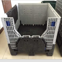 1200*1000mm Foldable Large Containers foldable plastic crate