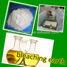 Chemical agents for cleaning industrial oil activated bleaching earth