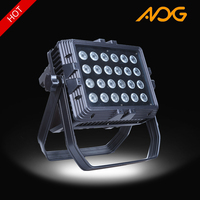 Led par lights 24*10w rgbw 4 in 1 colorful high power ip65 waterproof outdoor led par can light